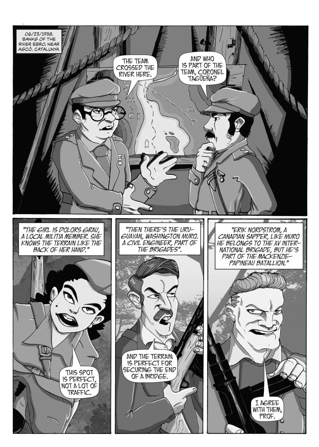 Filler: Portent Universe - Professor Paradigm in Ten Thousand Times (Page 1)