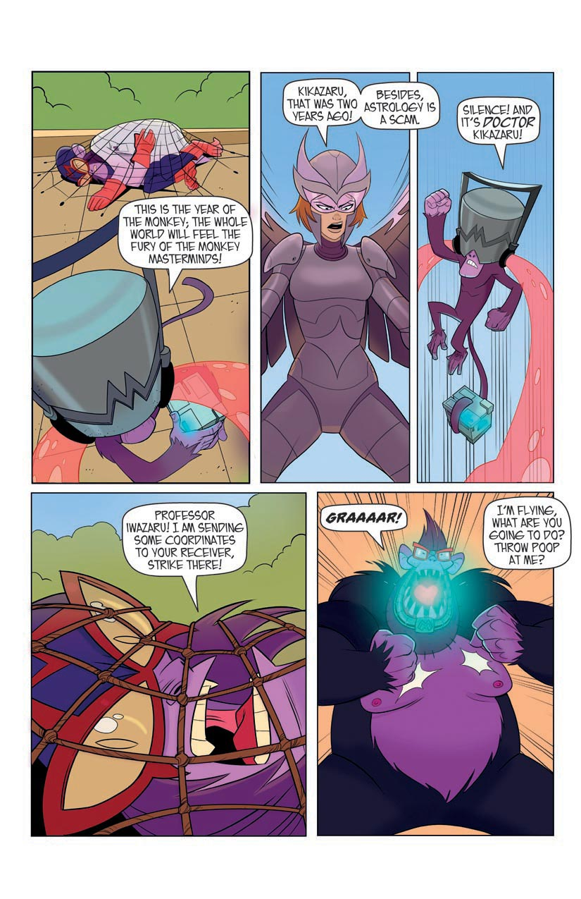 Portent Universe: Silverwing in Monkey Business (Page 5)