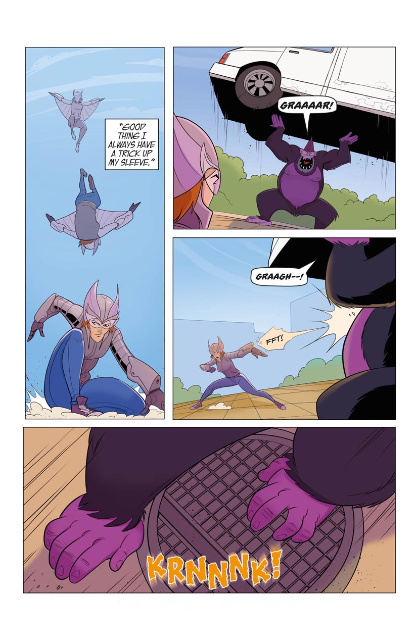 Portent Universe: Silverwing in Monkey Business (Page 7)