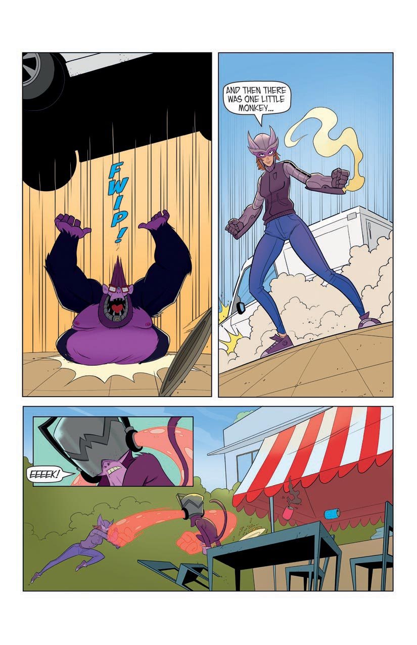 Portent Universe: Silverwing in Monkey Business (Page 8)