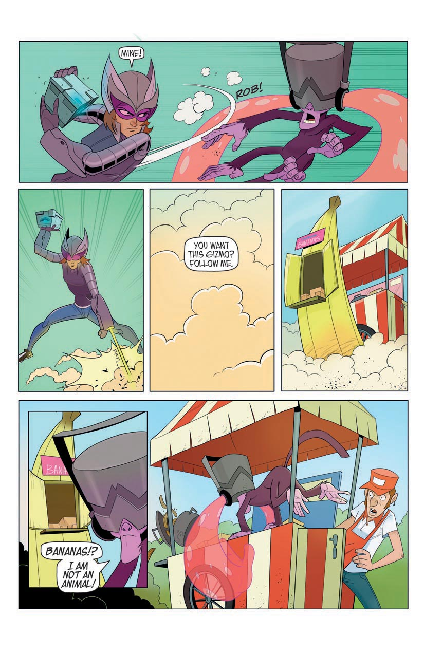 Portent Universe: Silverwing in Monkey Business (Page 9)