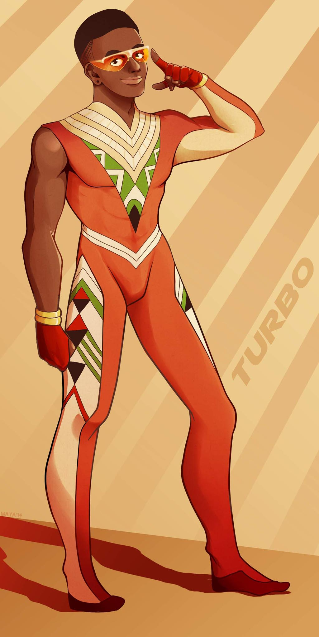 Filler Art: Turbo, by Maya Mint